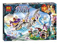 """Конструктор Bela Fairy 10413 """"Летающие сани Эйры"""", (аналог Lego Elves), 318 дет."""