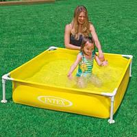 Детский каркасный бассейн Intex 122х122х30 см (57171), фото 1