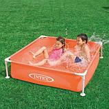 Детский каркасный бассейн Intex 122х122х30 см (57171), фото 3