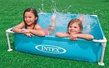 Детский каркасный бассейн Intex 122х122х30 см (57171), фото 7