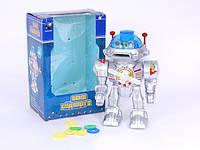Робот свет,звук на батарейках в коробке (0905)