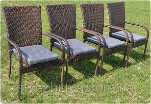 Комплект садових меблів TECH MORI 4+1, фото 3