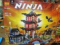 Лего  Конструктор для мальчиков Lego  Ninja Thunder Swordsman с героями № 10427  на 2031 детали