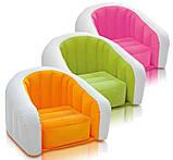 Надувное детское кресло-велюр Intex 69х56х48 см (68597), фото 2
