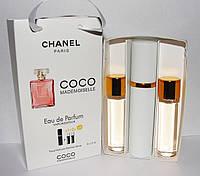 Духи набор 3в1 Chanel Coco Mademoiselle(коко шанель)