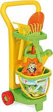 Ігровий набір-Візок Маленький садівник Wader (10770)