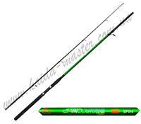 Спиннинг рыболовный штекерный Kaida Challenge 633-240, стеклопластиковый спиннинг 2,4 метра