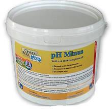 Crystal Pool pH Minus (1101) (суха кислота)