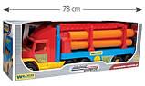 Іграшкова машинка Тягач-трубовоз з серії Super Truck Wader (36540), фото 4