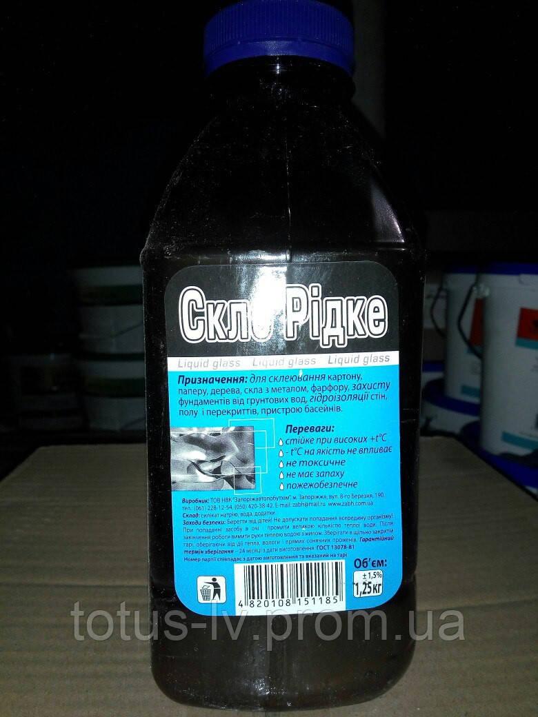 Жидкое стекло Запорожавтобытхим (1,25кг)
