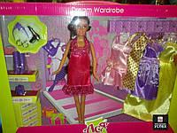 Набор с Куклой  Ася  и одежда