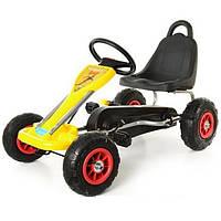 Детский вело-картинг BAMBI 1564 (GM 105)-Желтый-купить оптом, фото 1
