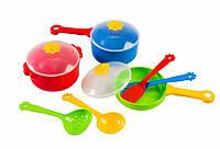 Детская посудка Ромашка (10 предметов) (39142)
