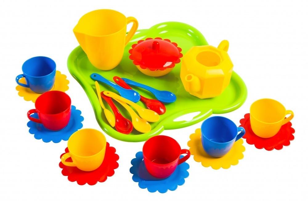 Детская посудка Ромашка (24 предмета) (39156)