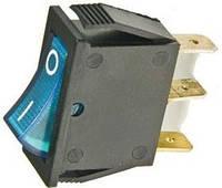 Переключатель с подсветкой IRS-101-1С ON-OFF, 3pin, 15A, 220V, синий