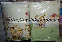 Бортики высокие и набор постели в кроватку детскую, фото 1