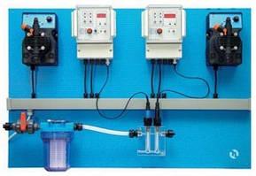 Автоматическая станция постоянного дозирования и контроля химических реагентов для общественных басс