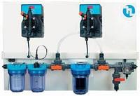 Автоматична станція пропорційного дозування і контролю хімічних реагентів для приватних басейнів та