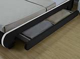 Ліжко шкіряна двоспальне BILBAO 180х200 див. LED, фото 3