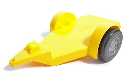 Іграшкова машинка авто баггі c причепом (39227) Wader