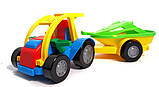 Іграшкова машинка авто баггі c причепом (39227) Wader, фото 5