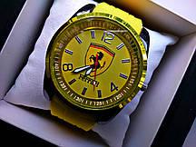 Часы мужские Ferrari жёлтые