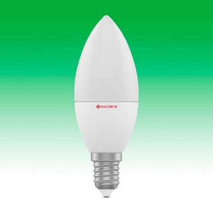 Светодиодная лампа LED 4W 3000K E14 ELECTRUM LC-4 (A-LC-0286), фото 2
