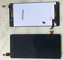 Дисплей модуль для Huawei P8 Lite ALE-L21 в зборі з тачскріном, чорний