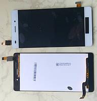 Huawei Ascend P8 Lite ALE L21 дисплей LCD + тачскрін сенсор білий оригінальний