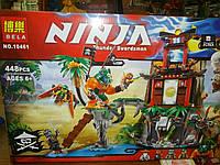 Лего  Конструктор для мальчиков Lego  Ninja Thunder Swordsman с героями № 10461  на 448 детали
