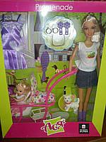 Набор с Куклой  Ася (блондинка)  + малышка и аксессуары