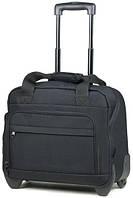 Практичная сумка дорожная на 2-колесах 21 л. Members Essential On-Board Laptop 21 Black, 922525 черный