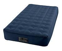 Надувная кровать со встроенным насосом Intex 102х191х23 см (68724)