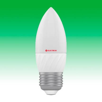 Светодиодная лампа LED 4W 4000K E27 ELECTRUM LC-10 (A-LC-0528), фото 2
