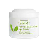 Ziaja Крем для лица «Натуральный оливковый» лёгкая формула 100 мл