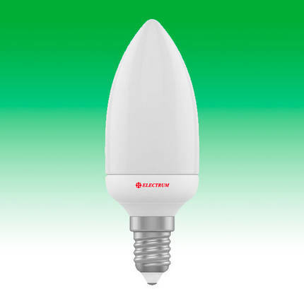 Светодиодная лампа LED 4W 4000K E14 ELECTRUM LC-5 (A-LC-1804), фото 2