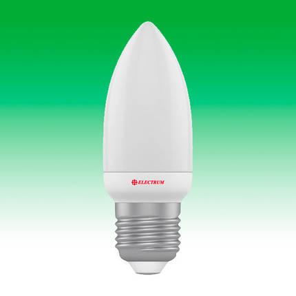Светодиодная лампа LED 4W 4000K E27 ELECTRUM LC-5 (A-LC-1806), фото 2