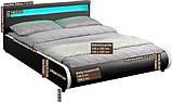 Ліжко SEVI 180х200 см з LED підсвічуванням, фото 5