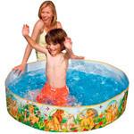 Каркасний дитячий басейн Intex 122х122х25 см (57476)