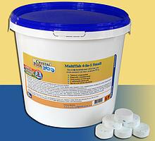 Хімія для басейнів Crystal Pool MultiTab 4-in-1 Large, 1 кг (2401)
