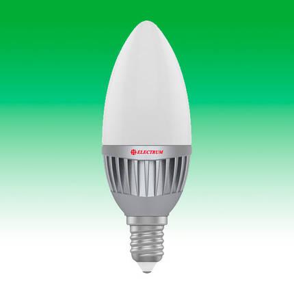 Светодиодная лампа LED 5W 4000K E14 ELECTRUM LC-11 (A-LC-0663), фото 2