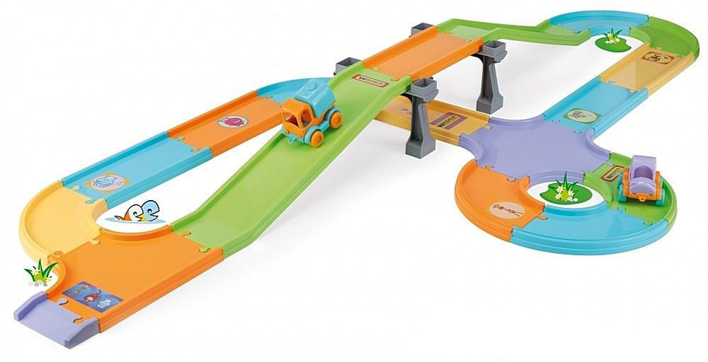 Детская трасса Трасса с мостом Wader (54021)