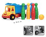Іграшкова машинка Вантажівка з кеглями серії Multi Truck Wader (32220,39220), фото 2