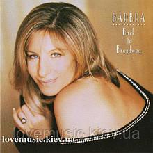 Музичний сд диск BARBRA STREISAND Back to broadway (1993) (audio cd)