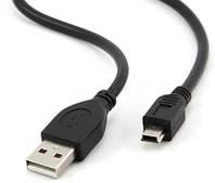Кабель Mini USB2.0 5P/AM 1,5m с 2-я ферритовыми кольцами T-T