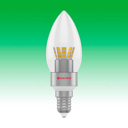 Светодиодная лампа LED 5W 4000K E14 ELECTRUM LC-30 (A-LC-0025), фото 2