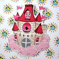 Замок в облаках. Настенная декорация для детского сада.