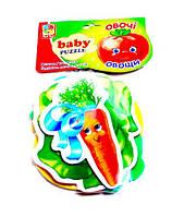 Мягкие пазлы Овощи Vladi Toys (VT1106-03)