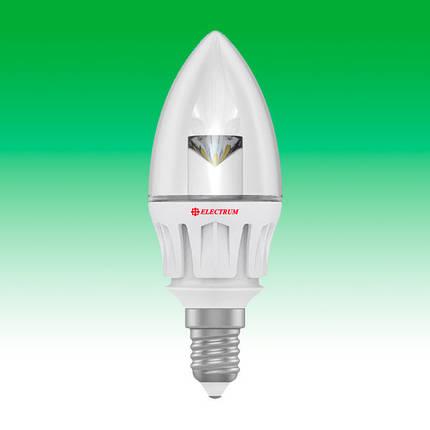Светодиодная лампа LED 5W 3000K E14 ELECTRUM LC-6 (A-LC-0417), фото 2