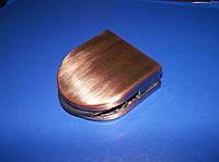 Стеклодержатель для полок медь, фото 1